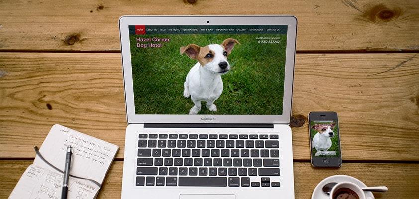 Web Design in Bedfordshire by Webster Internet
