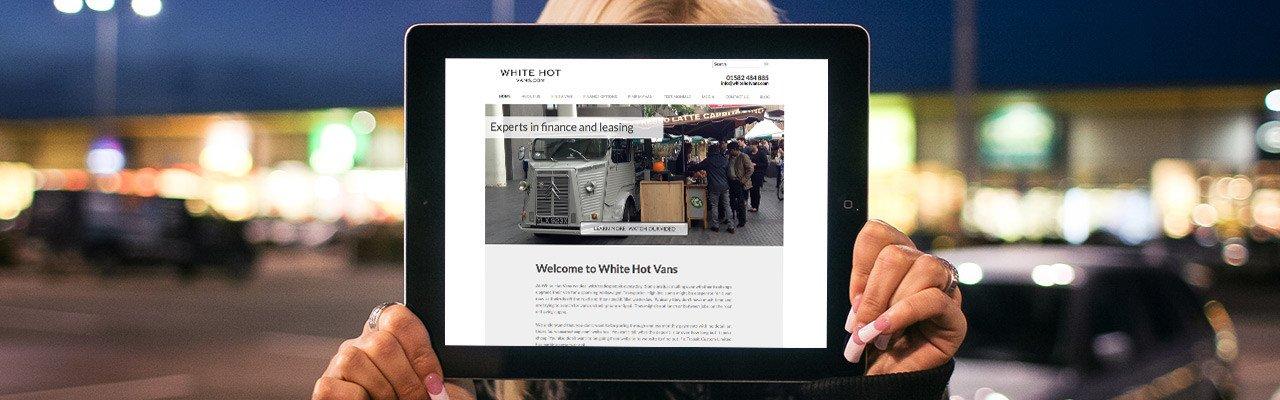 Website Design in Luton by Webster Internet