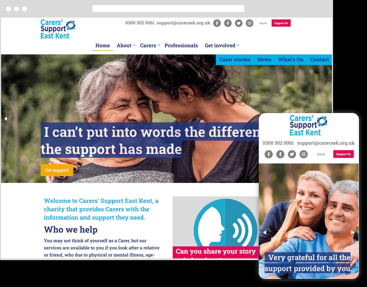 CSEK website by webster digital - web design bedfordshire